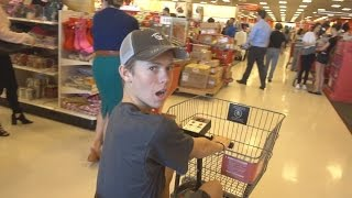ALMOST GOT ARRESTED AT THE STORE!!