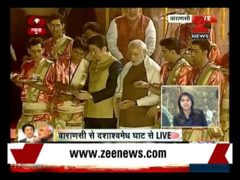 Watch: PM Narendra Modi, Shinzo Abe attend Ganga Aarti at Varanasi