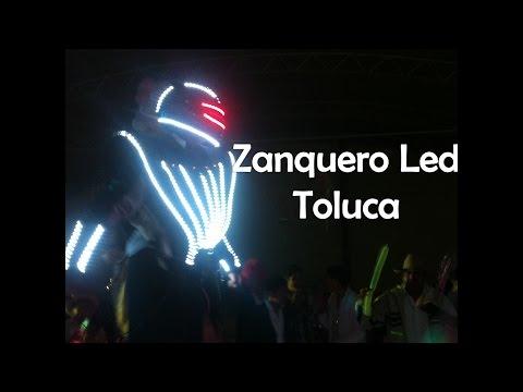 Zanquero led Toluca y efectos especiales