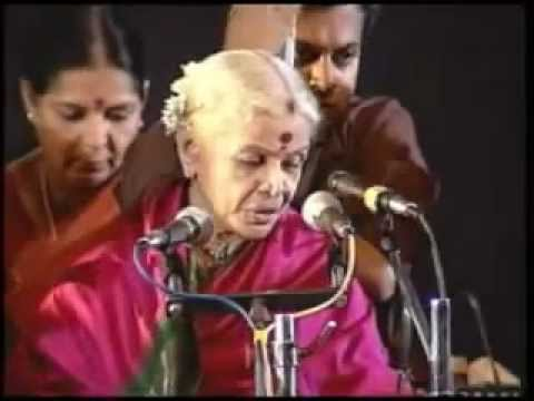 Bantu Reethi Ms. Subbulakshmi video