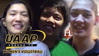 UAAP 79 volleyball stars share their favorite pre-game rituals