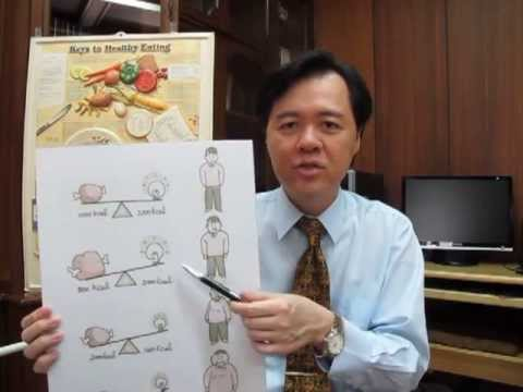 Healthy Eating and Weight Control -- Dr. Willie Ong Health Blog #20
