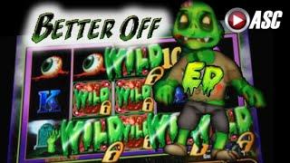 BETTER OFF ED | Bally - BIG WIN!! MAX BET Slot Machine Bonus w. Locking Wilds