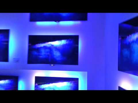 IFA 2014 Philips Booth - ambilight