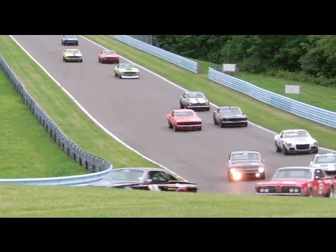 SVRA Historic Trans-Am Race at Watkins Glen 2013