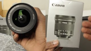 NEW Canon Ultra Wide Vlogging Lens Unboxing and Video/Field Test