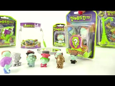 Zombie Zity Bouncerz. Toy videos.