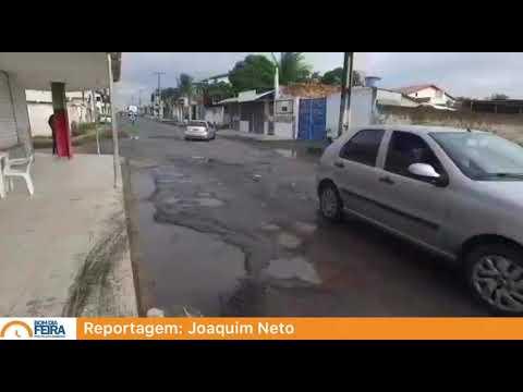 Chuvas causam buracos na rua Tijuca no bairro Parque Ipê