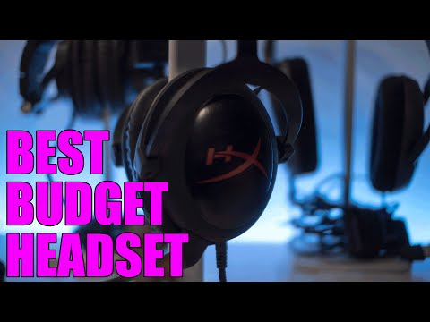 Best Budget Gaming Headset - Kingston HyperX Cloud Core Review