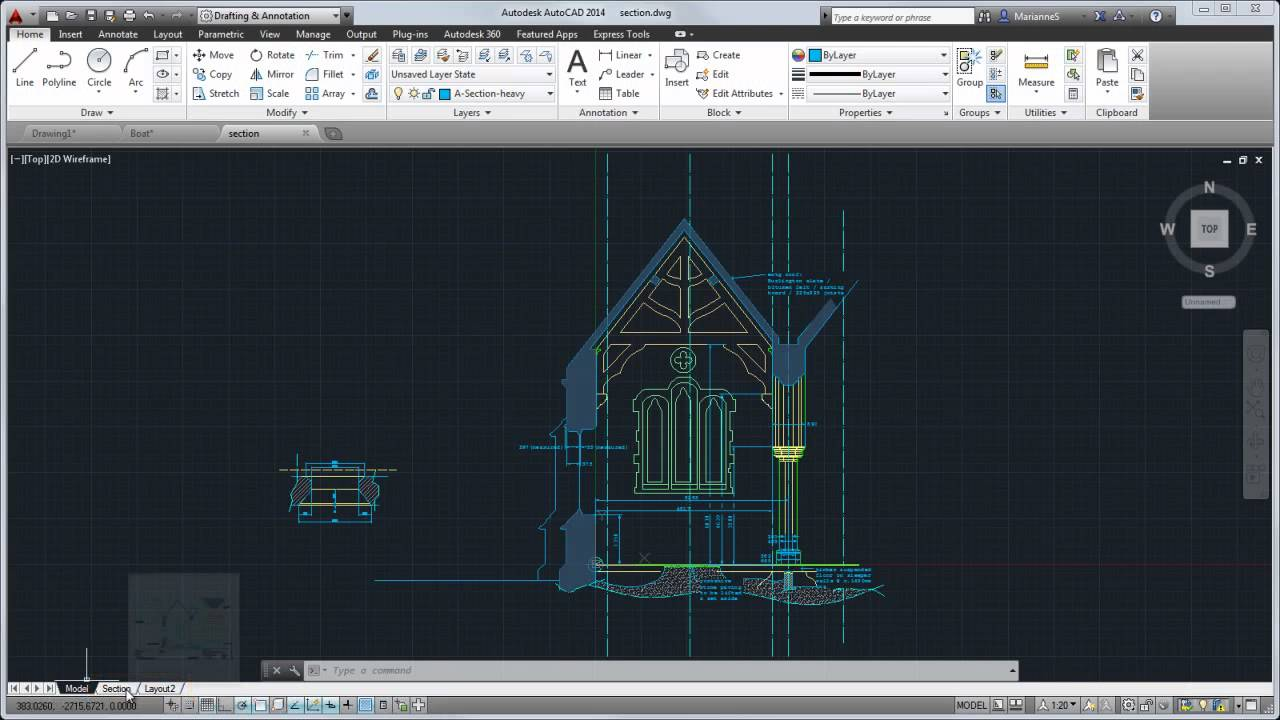 AutoCAD 2014 Kullan?c? Arayuzu Turu (AutoCAD 2014 Tour the user interface) - YouTube