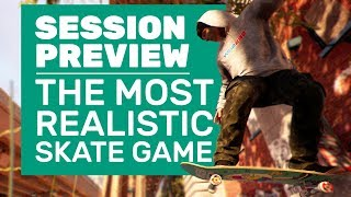 Session Is The Most Realistic Skate Game | Session Gameplay And Impressions
