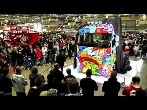 Volvo FH Art launch