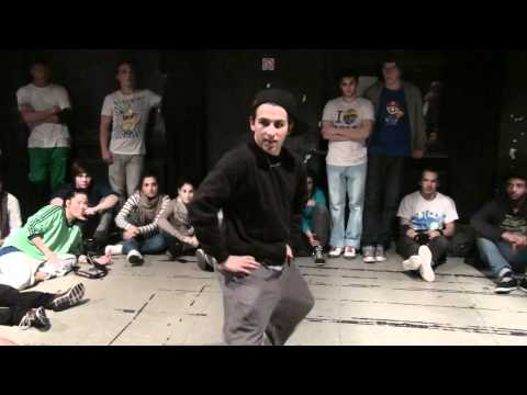 Jam Session 2011 Battle Popping 1 vs 1 Berlin FINAL: TF STAR vs Arman