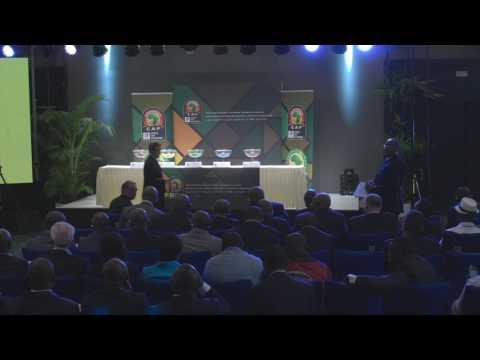 AFCON  2019 Qualifier Draw - Arabic
