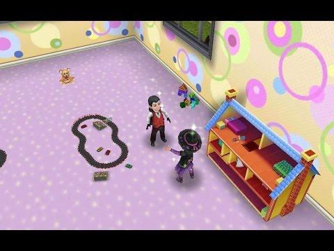 Sims Freeplay - Vampire Toddler [halloween Video] video