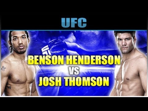 Benson Henderson vs Josh Thomson Prediction:UFC on Fox 10: Josh Has No Shot vs Benson