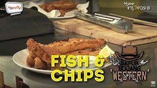 #DapurBujang Western: Fish & Chips.