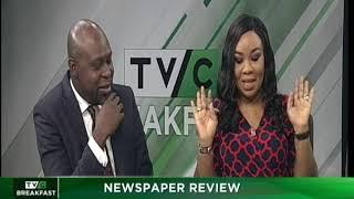 TVC Breakfast 7th December 2018   Newspaper Review