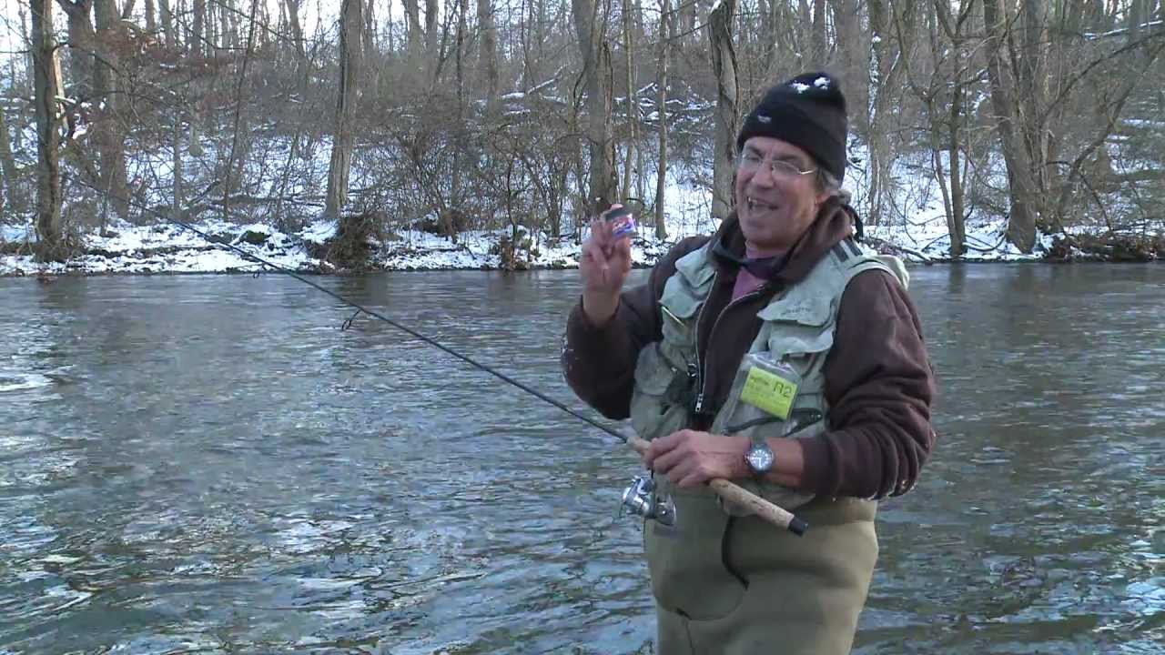 Winter trout fishing youtube for Winter trout fishing