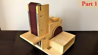 Building The 3 in 1 Sanding Station Part:1 ( Belt Sander, Disc Sander, Edge Sander )
