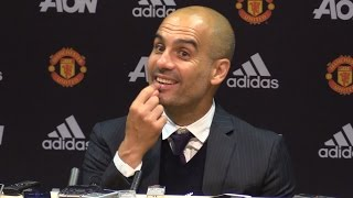 Manchester United 1-2 Manchester City - Pep Guardiola Full Post Match Press Conference