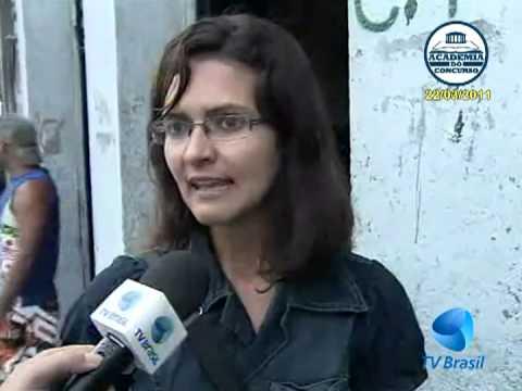 ACADEMIA DO CONCURSO: TV BRASIL - Repórter Rio - Desapropriação da Transcarioca (22/03/2011)