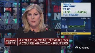 Apollo Global in talks to acquire Arconic: Reuters