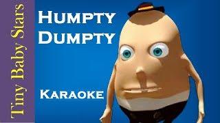 Humpty Dumpty Sat On The Wall | Karaoke Version | Nursery Rhymes for Kids by Tiny Baby Stars