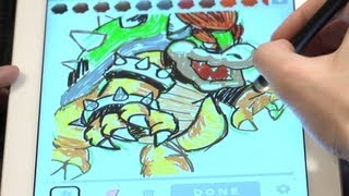 Draw Something iPad App Review with Mike Matei - Cinemassacre.com