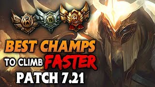 Best Champions who climb the FASTEST in LOW ELO for every role (League of Legends)