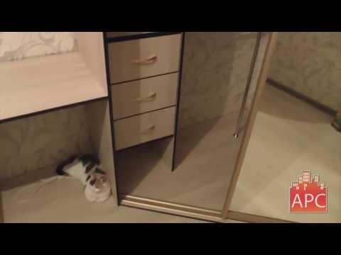 Двухстворчатый шкаф своими руками видео