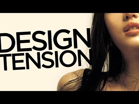 Graphic Design Tutorial: Creating visual tension
