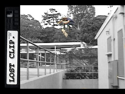 Figgy Lost Skateboarding Clip #18 360 Flip Roof Rap