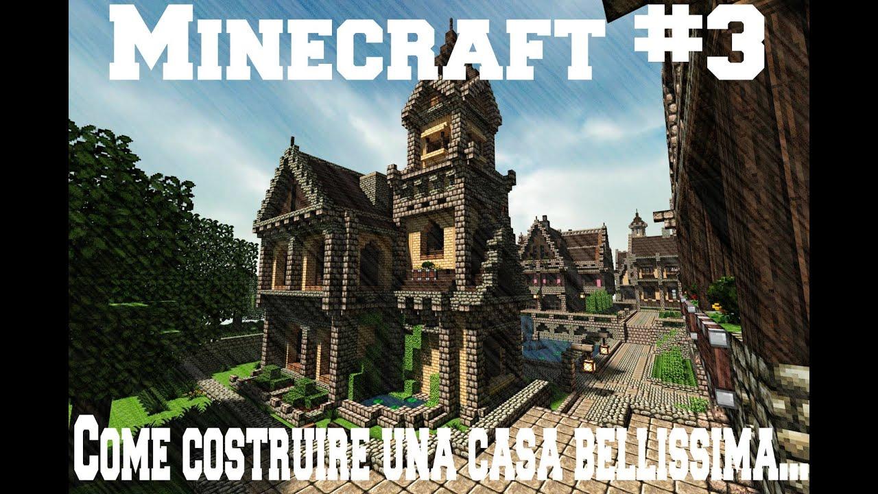 Minecraft 3 come costruire una casa bellissima camera sala giochi e panorama youtube - Come costruire una casa in miniatura ...