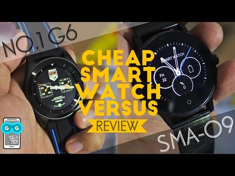 Versus Smartwatch Murah, Review No. 1 G6 vs SMA 09