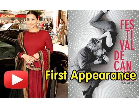 Cannes Film Festival 2013 - Vidya Balan's First Look video
