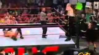 WWE Raw (2004) - Randy Orton vs Kane (Steel Cage Match) - Part 1