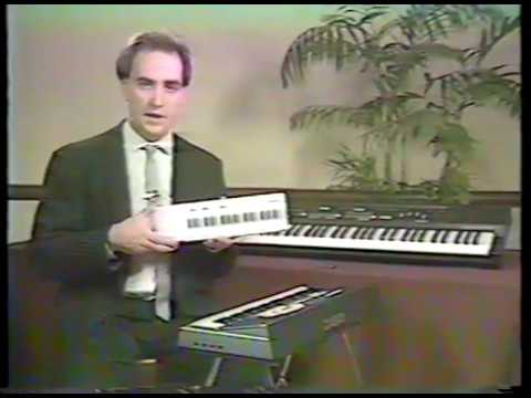 Casio Keyboards sales demo tape circa 1987