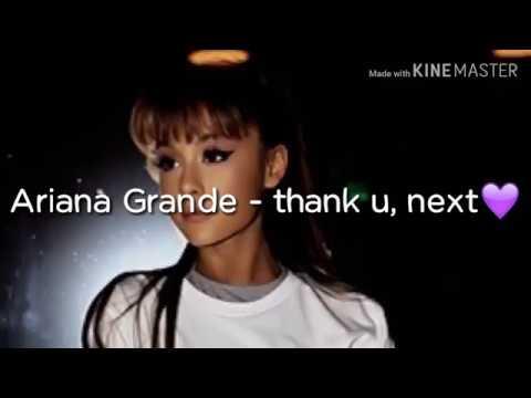 Ariana Grande - thank u, next (Lyrics) MP3