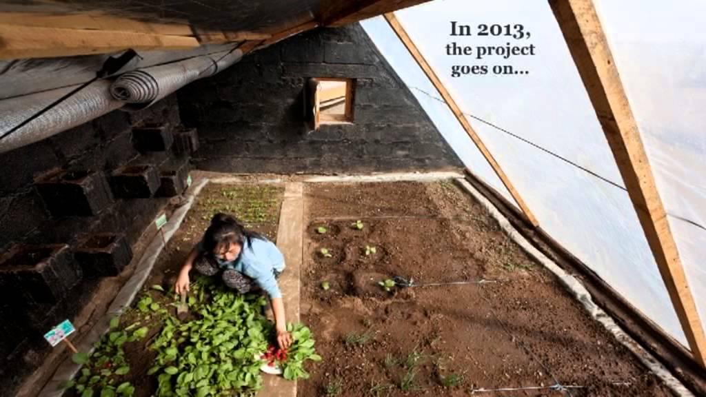 Passive Solar Greenhouses In Mongolia Youtube