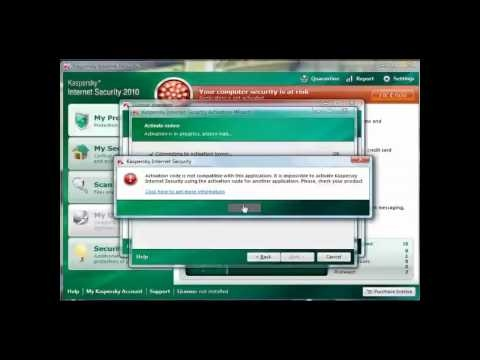 How To Apply Kaspersky 2011 Keys [ChattChitto RG] - YouTube