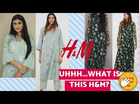 TRYING ON THE H&M MODEST COLLECTION? - YouTube