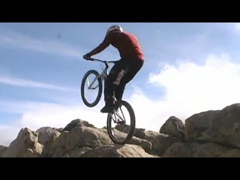 Mountain Bike Trials - Rear Wheel Hops