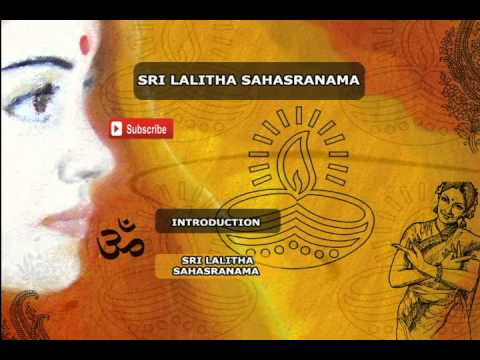 Sri Lalitha Sahasranama Songs | Sanskrit Devotional Songs |...