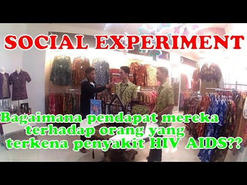Social Experiment - Memperingati hari HIV/AIDS