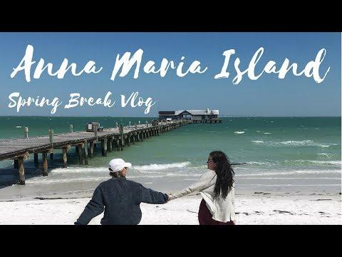 Anna Maria Island // Spring Break // Vlog