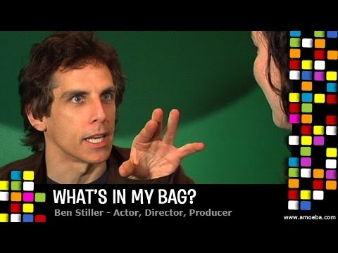 Ben Stiller - What's In My Bag?