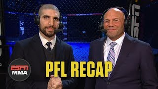 Ariel Helwani, Randy Couture recap Kayla Harrison's win at PFL 1, more | ESPN MMA
