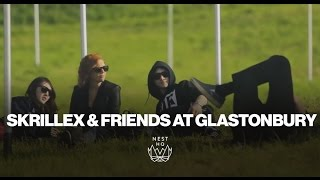 Skrillex Video - Skrillex & Friends at Glastonbury 2013