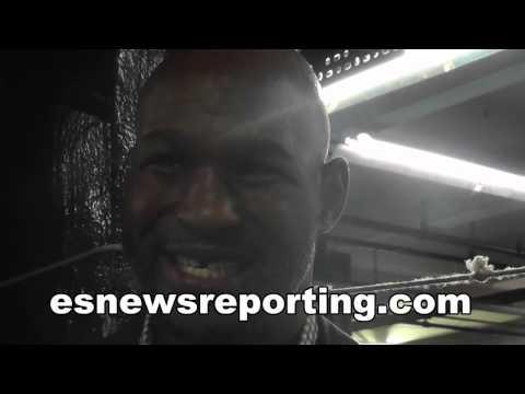 Bernard Hopkins on manny Pacquiao vs floyd Mayweather - esnews boxing